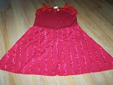 Size Medium 8-10 Disney HSM High School Musical Gabriella Red Costume Dress New