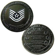 US Air Force Technical Sergeant Challenge Coin