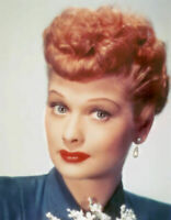 I Love Lucy Lucille Ball  Color  8x10 Photo