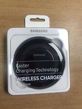 GENUINE SAMSUNG GALAXY NOTE 8, 9 10+ BLACK FAST WIRELESS CHARGER CHARGING PAD
