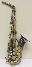 Julius Keilwerth SX90R Black Laquer Alto Saxophone - NICE!