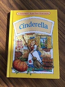 a good night  Sleep Tight, story Book (hard cover ) cinderella