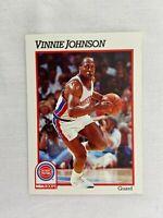 Vinnie Johnson Detroit Pistons 1991 NBA Hoops Basketball Card 62