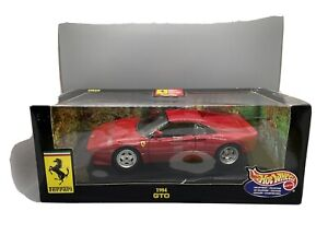 1/18 HOT WHEELS 1984 FERRARI 288 GTO RED DIECAST MISB **READ**