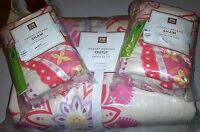 Pottery Barn Teen DESERT DREAMS Full/Queen Quilt & 2 Standard Shams NEW