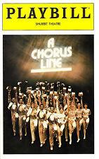 """Bebe Neuwirth """"A CHORUS LINE"""" Michael Bennett / Marvin Hamlisch 1980 Playbill"""