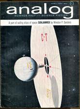 Analog SF Magazine-April, 1964-Murray Leinster, George O. Smith, Arthur Porges