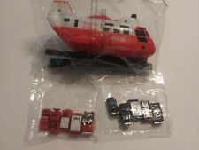 MINI POLICE & FIRE VEHICLES + TRANSPORT RESCUE HELICOPTER PLASTIC NEW IN PACKAGE
