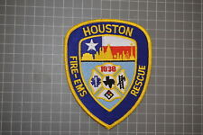 Houston Texas Fire-EMS Patch (B17-F)