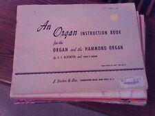 Alderfer & Cronham: An Organ Instruction Book, organ (Fischer)