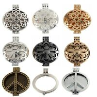 30mm Pad Locket Pendant Fragrance Aromatherapy Oil Diffuse DIY Necklace Access