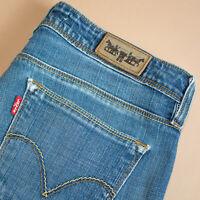Levi 572 Jeans Bootcut Zip Fly Blue Vintage Women's (PatchW31L34) W 30 L 29