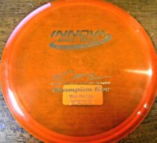 RARE INNOVA PAUL MCBETH FLAT CHAMPION ROC 2012 WORLD CHAMP ORG/SLV 178G ~LSDISCS