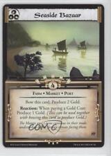 2011 Legend of the Five Rings CCG - Before Dawn 8 Seaside Bazaar Gaming Card 1i3