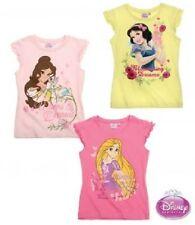 Disney Kurzarm Mädchen-T-Shirts & -Tops mit Rundhals-Ausschnitt