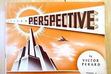 VINTAGE 1954 VICTOR PERARD SERIES #22 PERSPECTIVE PANTING LESSON