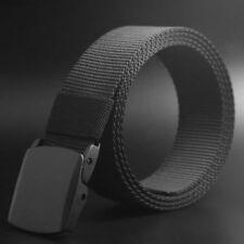 AU Men's Fashion Outdoor Sports Military Tactical Nylon Waistband Canvas Belt