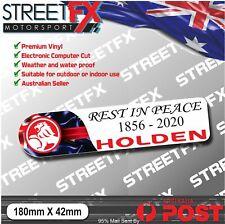 RIP HOLDEN Sticker Decal Bumper Car Window Skate Commodore SS Clubsport V8 Hoon