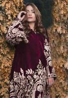Pakistani Indian Maria B VELVET Salwar Kameez Sana Safinaz  Asim Jofa Designer