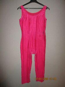 Damen Ganzanzug Front-RV Gelb Sport Voltigieranzug stretch elastisch shiny