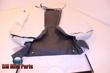 BMW E92 Front Right Sport Seat Back Cover Leather Black 52107843050