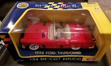 1956 Ford Thunderbird Convertible 1:24 Diecast replica by Motormax