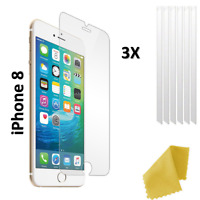 For iPhone 8 4.7 inch Screen Protector Cover Guard Film Foil x 3