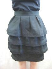 Karen Walker Size 8 Black Party Skirt - Hi There label