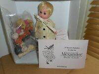 """Madame Alexander 8"""" Doll Set Winnie the  Pooh and the Blustery Day W / Friends"""