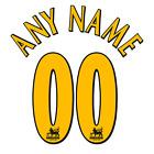 Premier League 1996-06 ANY NAME/NUMBER Set Flock Leeds Newcastle Tottenham Shirt