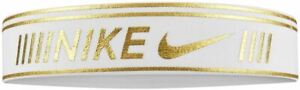 Nike Pro Metallic Headband - White