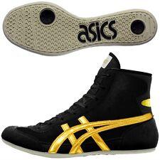 ASICS JAPAN Wrestling shoes EX-EO TWR900 Black x Gold original color