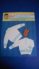 Emu Kids Jumper & Cardigan Knitting pattern 8553