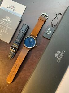 Orient Contemporary Maestro Blue dial 40mm Watch in Like New Condition