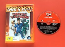 Hospital Tycoon for PC - See My Ebay Store For More Games
