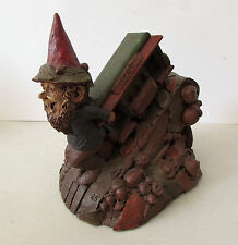 Tom Clark Gnome Figurine Hyde Powell Cable Car San Francisco Cupertino Ca