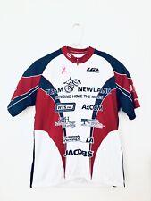 BPMS150 Cycling Jersey 2010 Houston to Austin Blue Red White 3/4 Zip Size XL