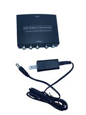 HDMI to Component Converter, avedio links HDMI to 1080P YPbPr 5RCA RGB + R/L Vid