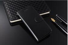 iPhone 5 Premium Luxury Wallet Flip cas couvrir avec Photo ID Slots Bundle 5 s SE