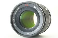[Exc+4] Contax Carl Zeiss Sonnar T* 100mm f3.5 AEJ SLR C/Y Lens from Japan #363