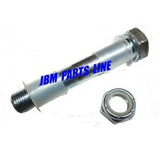 "Spindle Bolt 5/8-18 X 3 3/4"" Go Kart, King Pin Bolt, 2 Bushings And Nut"