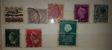 45 VINTAGE POSTAGE STAMPS NEDERLAND HOLLAND  UH USED