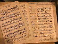 E.-J. Frederiksen Piazza del popolo scène de ballet partition orchestre matériel
