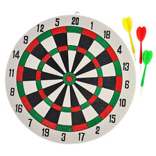 Funny New Dart Board &Darts Game Set Perfect for Man Cave Game Room Kids New.