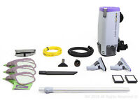 Proteam Super Coach Pro 10 QT Commercial Backpack Vacuum Cleaner Pro Blade Kit