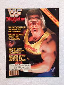 WWF WRESTLING MAGAZINE FEB MAR 1986 HULK HILLBILLY JIM