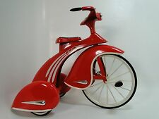 1930s Pedal Car Tricycle Rare Vintage Classic Precision Red Midget Show Model