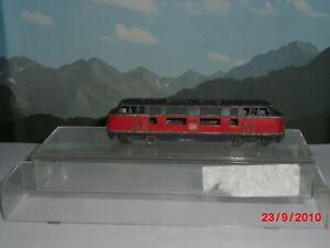 Minitrix Schiebe-Diesellok BR V 200 DB Spur N