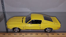 1/18 1968 FORD MUSTANG SHELBY GT350 SPECIAL ORDER COLOR 6066 YELLOW BY ACME gd