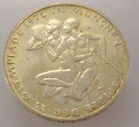 10 DM Silber Gedenkmünze aus Deutschland / Olympiade 1972/ Silber